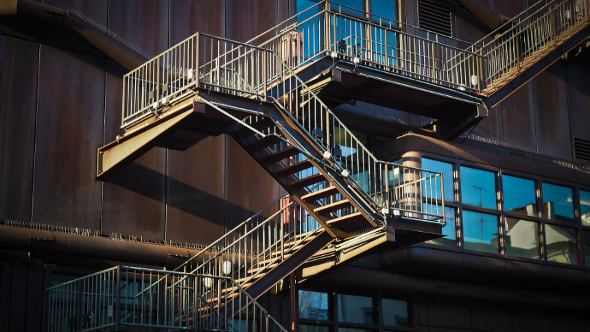 fire escape stairs